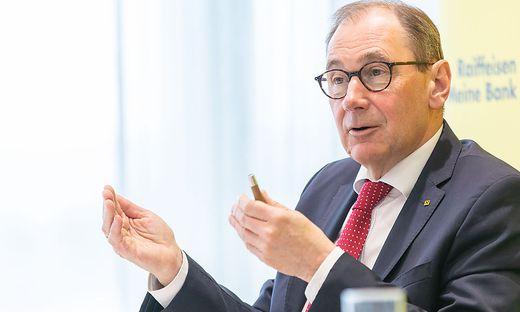 Martin Schaller, Generaldirektor der Raiffeisenlandesbank Steiermark (RLB)