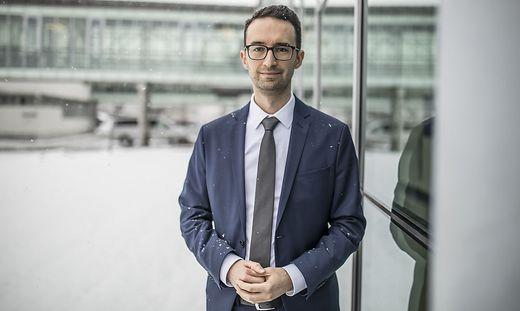 Heiko Breitsohl, Professor für Organisation & Personalmanagement, hielt am Freitag seine Antrittsvorlesung an der Uni Klagenfurt