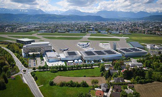 Skizze des geplanten Flughafen-Neubaus
