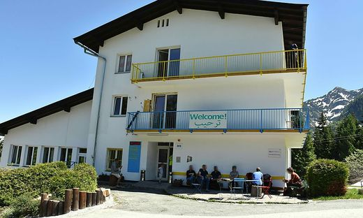 Rückkehrzentrum Bürglkopf