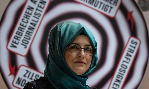Hatice Cengiz, Verlobte des ermordeten Jamal Khashoggi, klagt an