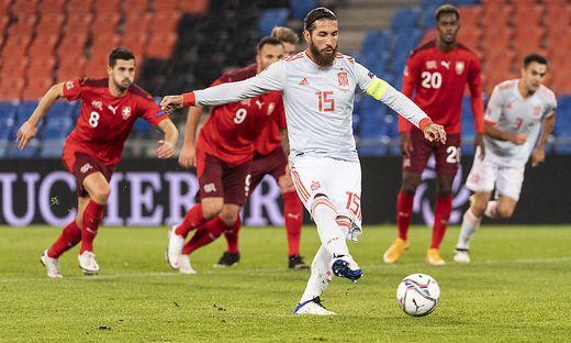 Nach 25 getroffenen Elfern scheiterte Ramos gegen die Schweiz gleich zwei Mal