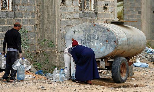 Wassermangel in Libyen