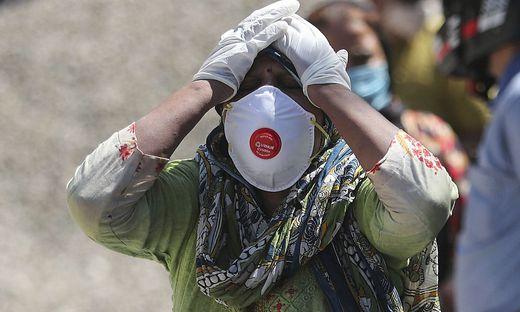 Indien vermeldet weltweit die höchsten Neuinfektionswerte