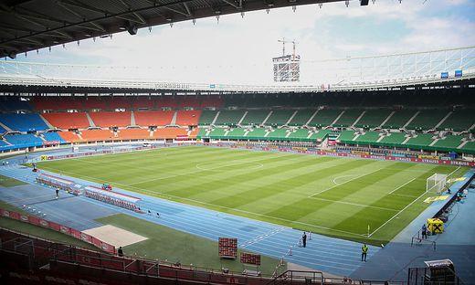Das Wiener Ernst-Happel-Stadion