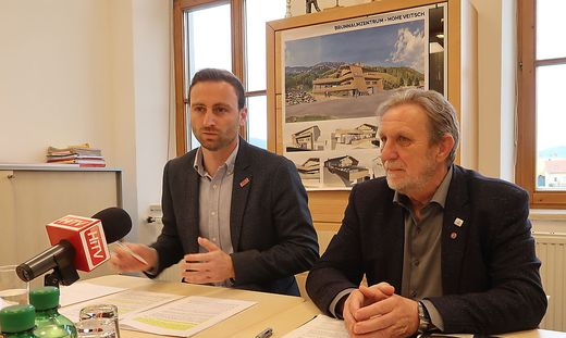 Jochen Jance und Hannes Koudelka stoppten im April das Projekt