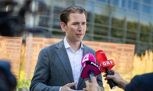 Parteichef Sebastian Kurz