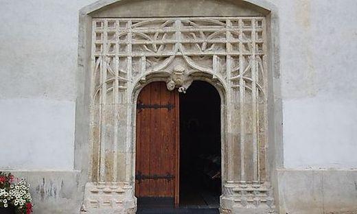Das gotische Südportal der Aflenzer Pfarrkirche