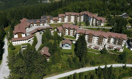 Auf 1500 Metern Seehöhe: Das Resort hat 94 Appartements bzw. 400 Betten
