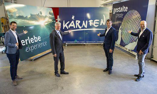Standortmarketing noch im team. Jetzt fällt Kärnten  Werbung der ÖVP zu