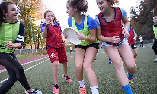 Auch Ultimate-Frisbee-Turniere werden im Landessportzentrum abgehalten.