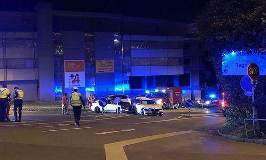 Unfall in Graz-Ries