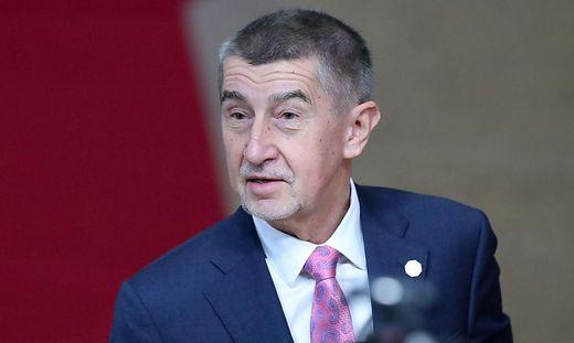 Regierungschef Andrej Babis