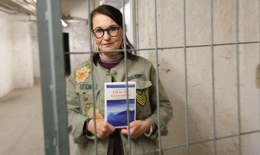 Krimiautorin Andrea Nagele