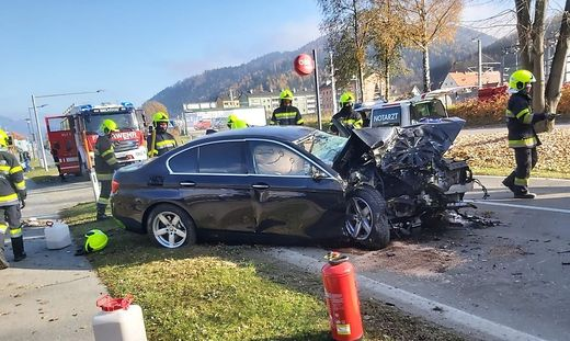 Unfall in Niklasdorf
