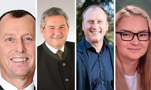 Die Spitzenkandidaten für die Gemeinderatswahl 2020 in Lannach