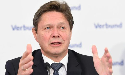 Verbund-Chef Wolfgang Anzengruber