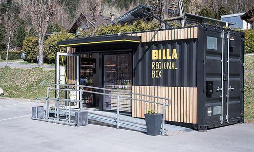 Vier Regionalboxen stehen mittlerweile in Kärnten - es werden österreichweit mehr