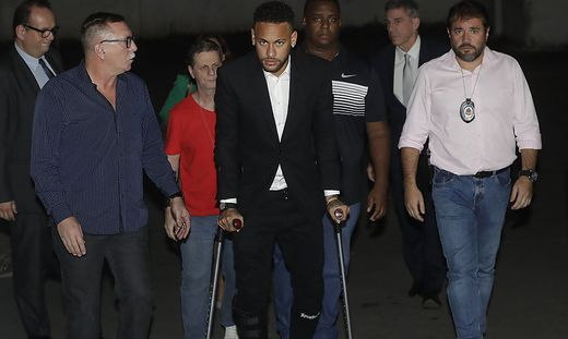 Neymar sagte bei Polizei aus: ''Wahrheit wird ans Licht kommen''