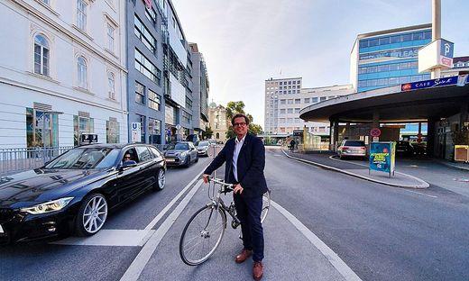 Wolfgang Feigl Verkehrsplanungschef Graz