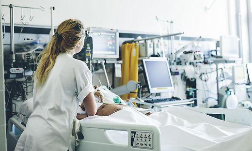 Spitalspflege (Archivfoto)