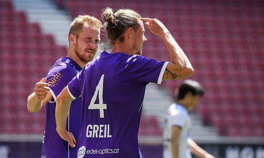 Markus Rusek (links) mit Patrick Greil