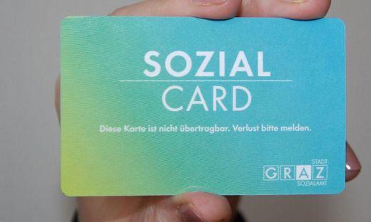 "12.700 Grazer besitzen die ""SozialCard"""