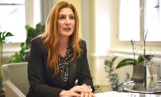 Geschäftsführerin des Sozialhilfeverbandes: Claudia Egger-Grillitsch