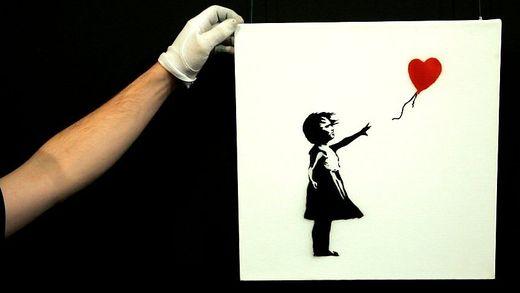 Millionen-Gemälde geschreddert!: So erklärt Banksy seine verrückte Aktion