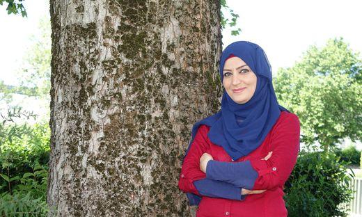 Mona Kaddoura lädt in ihrem Frauencafe zu verschiedenen Workshops