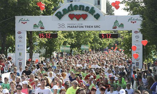 """Mehr als 10.000 Teilnehmer werden heuer zum 39. """"Drei-Herzen-Marathon"""" in Radenci erwartet"""