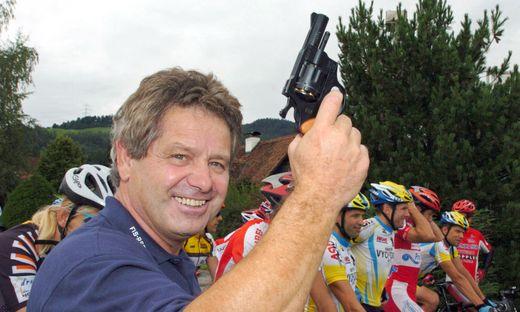 Gerhard Krois bleibt unter anderem als Organisator der Weltradsportwoche in Erinnerung
