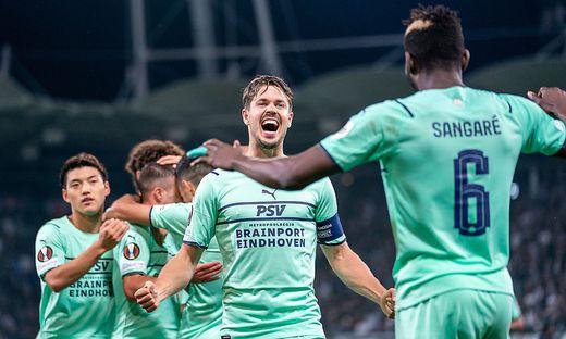 SOCCER - UEFA EL, Sturm vs Eindhoven