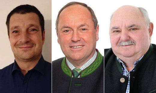 Erich Ulm, Franz Lindschinger und Peter Hösch sind die Spitzenkandidaten von St. Josef