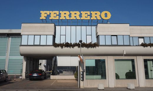Ferrero-Fabrik im italienischen Alba