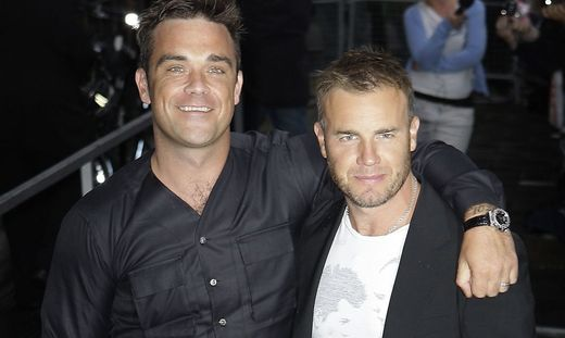 Robbie Williams, Gary Barlow