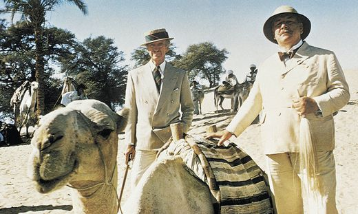 Tod auf dem Nil - Peter Ustinov (rechts) als Hercule Poirot