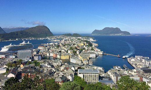 Ålesund - eine Perle Norwegens
