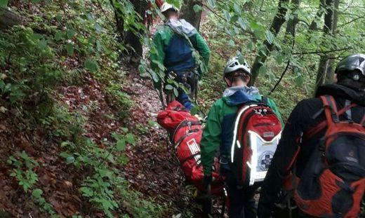 Klettersteig Hallstatt : In hallstatt steirerin stürzte von klettersteig meter den