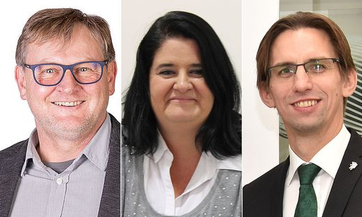Alois Zettel, Manuela Kelz und Joachim Schnabel gehen als Spitzenkandidaten in die Wahl