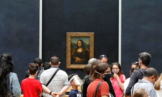 Mona Lisa - das Original im Louvre