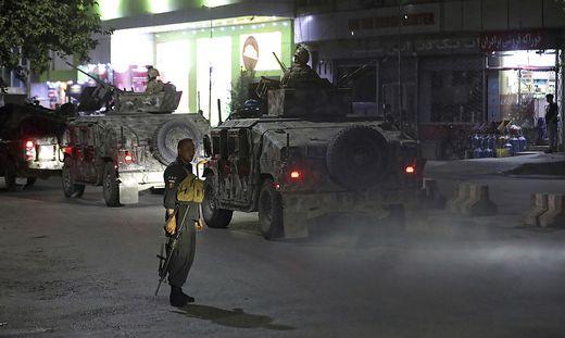 In Kabul haben sich mindestens drei Explosionen ereignet