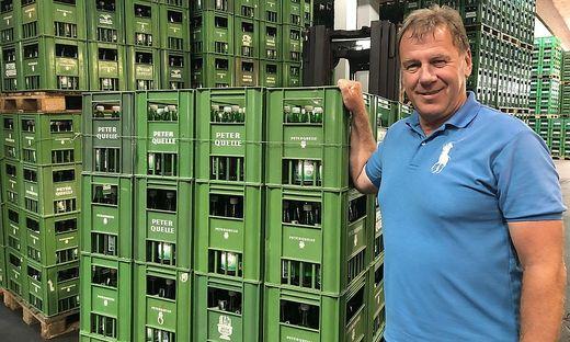 Gerald Doleschel ist seit 2015 Peterquelle-Chef
