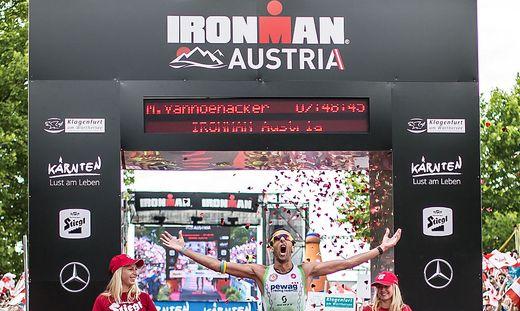 Ironman Austria Klagenfurt Juni 2015