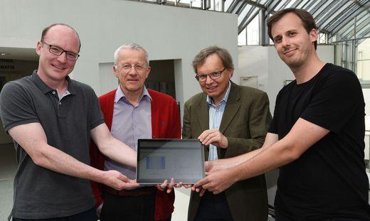 Armin Rund, Karl Kunisch, Rudolf Stollberger und Christoph Aigner