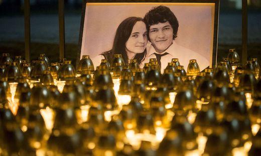 Der Journalist Jan Kuciak und seine Verlobte wurden im Februar 2018 ermordet