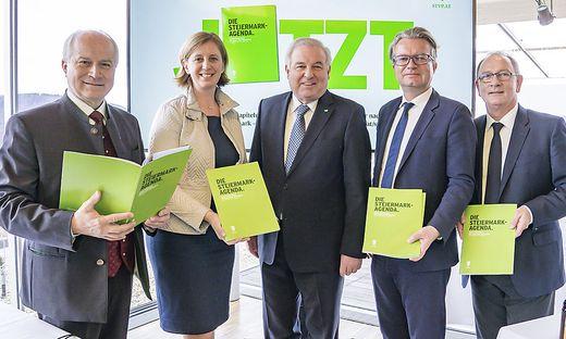 VP stellte Steiermark-Agenda vor