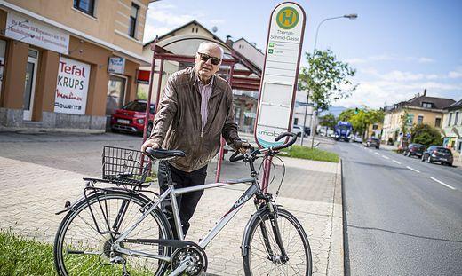 Kurt Peterle ehemaliger Politiker und Verkehrsstadtrat Klagenfurt Juni 2020