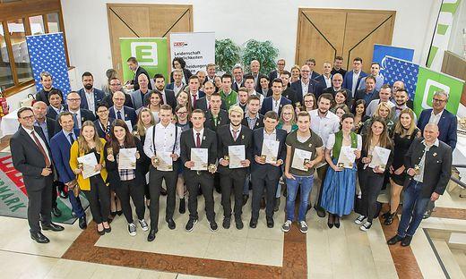 """Fast 40 Lehrlinge und Meister wurden als """"Stars of Styria"""" ausgezeichnet"""
