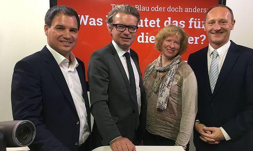 Schickhofer, Drexler, Gigler und Kassegger.